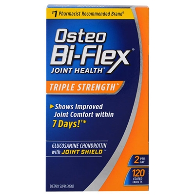 Osteo Bi-Flex Joint Health Triple Strength 120 Tablets