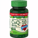 Nature's Truth CoQ10 Plus Black Pepper Extract 50 Softgels