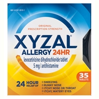 XYZAL Allergy 24HR 35 Tablets