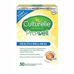 Culturelle Probiotics Pro-Well Health & Wellness 30 Capsules