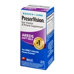 Bausch + Lomb PreserVision Areds Soft Gels 90 Softgels
