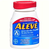 Aleve Pain Reliever Fever Reducer 200 Tablets