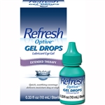 Refresh Optive Gel Drops Lubricant Eye Gel Extended Therapy 0.33oz / 10ml