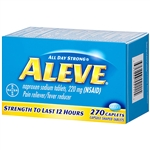 Aleve Pain Reliever Fever Reducer 270 Caplets