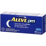 Aleve PM Pain Reliever Nigttime Sleep Aid 80 Caplets