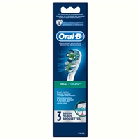 Oral-B Dual Clean 3 Replacement Brush Heads