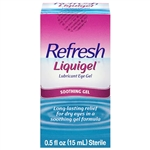 Refresh Liquigel Lubricant Eye Gel Soothing Gel 0.5oz / 15ml