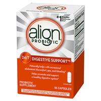 Align 24/7 Digestive Support Probiotic Supplement 56 Capsules