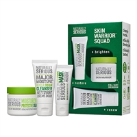 Naturally Serious Skin Warrior Squad 3 Piece Set