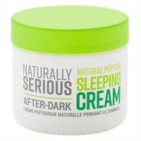 Naturally Serious After-Dark Natural Peptide Sleeping Cream 1.7oz / 50ml