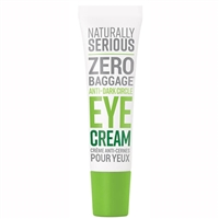Naturally Serious Zero Baggage Anti-Dark Circle Eye Cream 0.67oz / 20ml