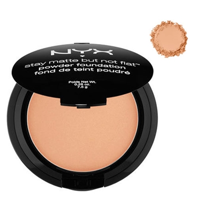 NYX Stay Matte But Not Flat Powder Foundation Tan 0.26oz / 7.5g