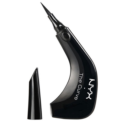 NYX The Curve Felt Tip Liner 01 Jet Black 0.014oz / 0.4ml