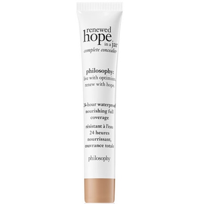Philosophy Renewed Hope In A Jar Complete Concealer 6.0 Almond 0.34oz / 10ml