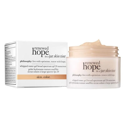 Philosophy Renewed Hope In A Jar Skin Tint 2.5 Ivory 1oz / 30ml
