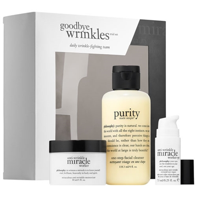 Philosophy Goodbye Wrinkles Trial 3 Piece Set