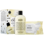 Philosophy Keep It Clean Cleansing Duo for Vacays & Staycays