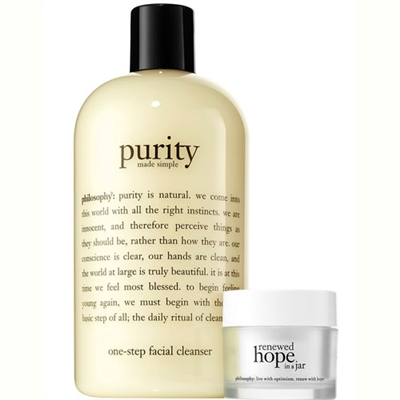 Philosophy Cleanse, Glow & Go! 2 Piece Set