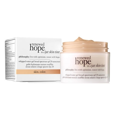 Philosophy Renewed Hope In A Jar Skin Tint SPF20 6.5 Tan 1oz / 30ml