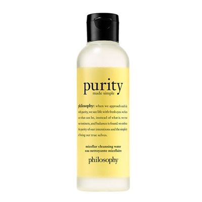 Philosophy Purity Made Simple Micellar Cleansing Water 3.4oz / 100ml