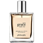 Philosophy Pure Grace Nude Rose for Women 2oz Eau De Toilette Spray