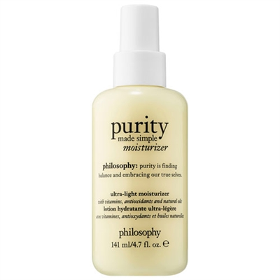 Philosophy Purity Made Simple Ultra-Light Moisturizer 4.7oz / 141ml