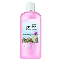 Philosophy Pure Grace Desert Summer Shampoo, Bath, & Shower Gel 16oz / 480ml