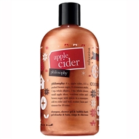 Philosophy Apple Cider Shampoo, Shower Gel, & Bubble Bath 16oz / 480ml