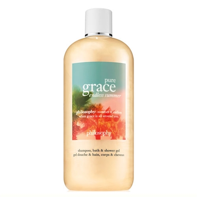 Philosophy Pure Grace Endless Summer Shampoo, Bath, & Shower Gel 16oz / 480ml