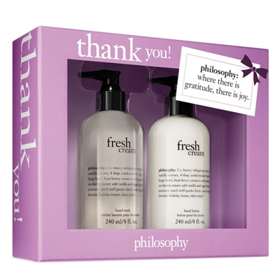 Philosophy Thank You! 2 Piece Set