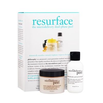 Philosophy Resurface The Microdelivery Dual - Phase Peel 2 Pieces Set
