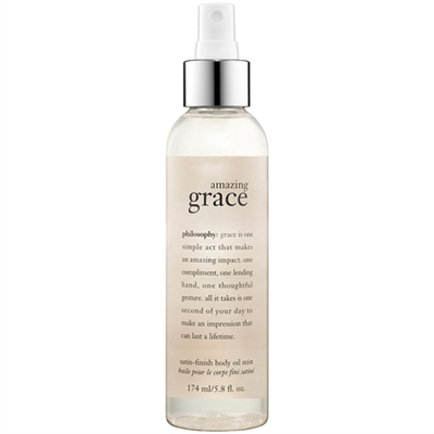 Philosophy Amazing Grace Satin Finish Body Oil Mist 174ml / 5 8 oz