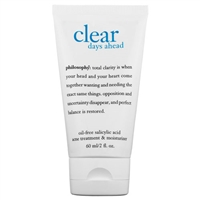 Philosophy Clear Days Ahead Oil Free Acne Treatment & Moisturizer 2 oz / 60ml