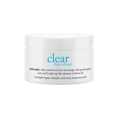 Philosophy Clear Days Ahead Acne Treatment 60 Pads