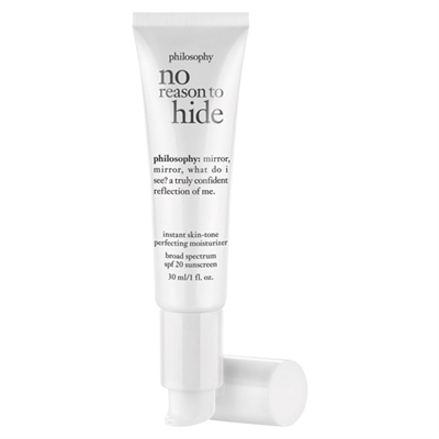Philosophy No Reason To Hide Instant Skin Tone Moisturizer SPF 20 Medium 1.0oz / 30ml