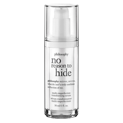 Philosophy No Reason To Hide Multi Imperfection Transforming Serum 30ml / 1oz