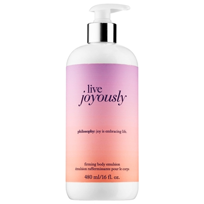 Philosophy Live Joyously Firming Body Emulsion 480ml / 16oz