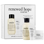 Philosophy Renewed Hope Trial Kit 3 Piece Set