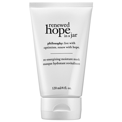 Philosophy Renewed Hope In A Jar Re-Energizing Moisture Mask 4oz / 120ml