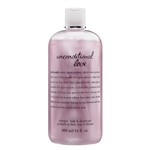 Philosophy Unconditional Love Shampoo, Bath, & Shower Gel 16oz / 480ml
