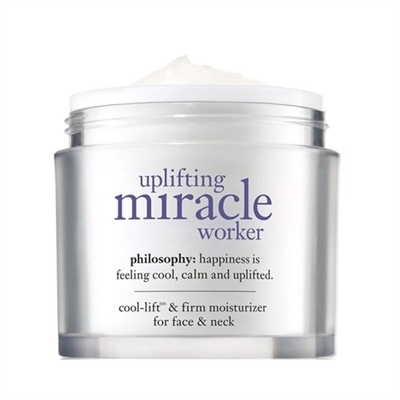 Philosophy Uplifting Miracle Worker Cool-Lift & Firm Moisturizer for Face & Neck 2oz / 60ml