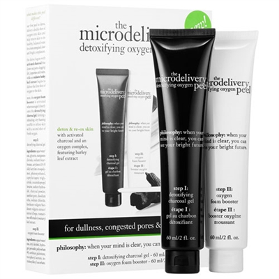 Philosophy The Microdelivery Detoxifying Oxygen Peel 2 Piece Set