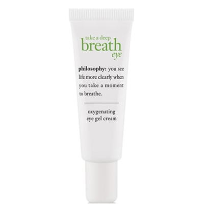 Philosophy Take A Deep Breath Eye Oxygenating Eye Gel Cream 0.5oz / 15ml