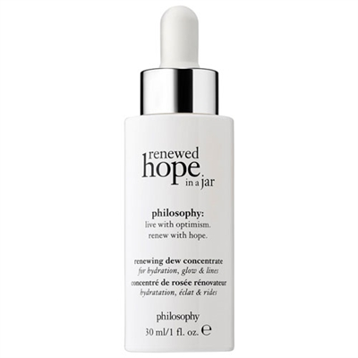 Philosophy Renewed Hope In A Jar Renewing Dew Concentrate 1oz / 30ml
