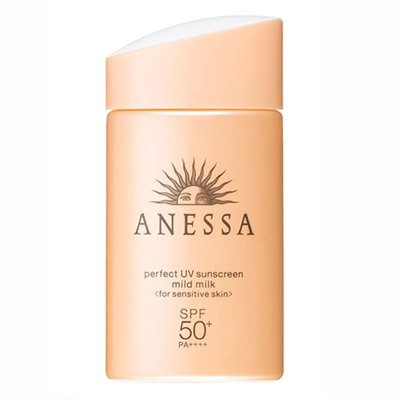 Shiseido Anessa Perfect UV Mild Milk Sensitive Skin SPF50+ 2oz / 60ml