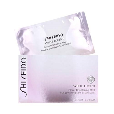 Shiseido White Lucent Power Brightening Mask  6 sheets