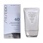 Shiseido Urban Environment UV Protection Cream SPF 40 1.9 oz / 50ml