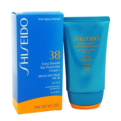 Shiseido Extra Smooth Sun Protection Cream SPF 38 2.0 oz / 50ml