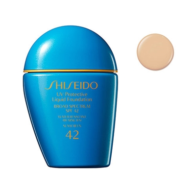 Shiseido UV Protective Liquid Foundation SPF42 Light Ivory 1oz / 30ml