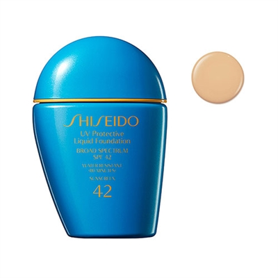 Shiseido UV Protective Liquid Foundation SPF42 SP30 Light Ochre 1oz / 30ml